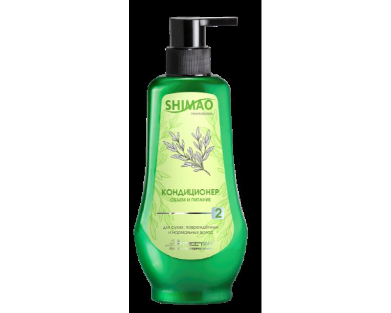 """Kondicionierius sausiems, pažeistiems ir normaliems plaukams """"Apimtis ir mityba"""" su rozmarinu, 320 ml."""