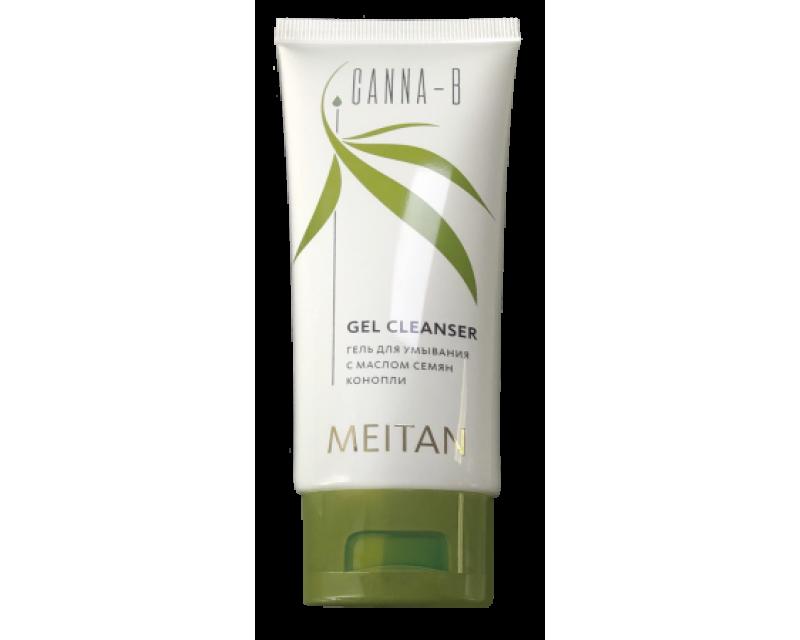 Prausimosi gelis veidui CANNA-B  su kanapių sėklų aliejumi, 100 ml. (konsultant. tanai: 7,35)