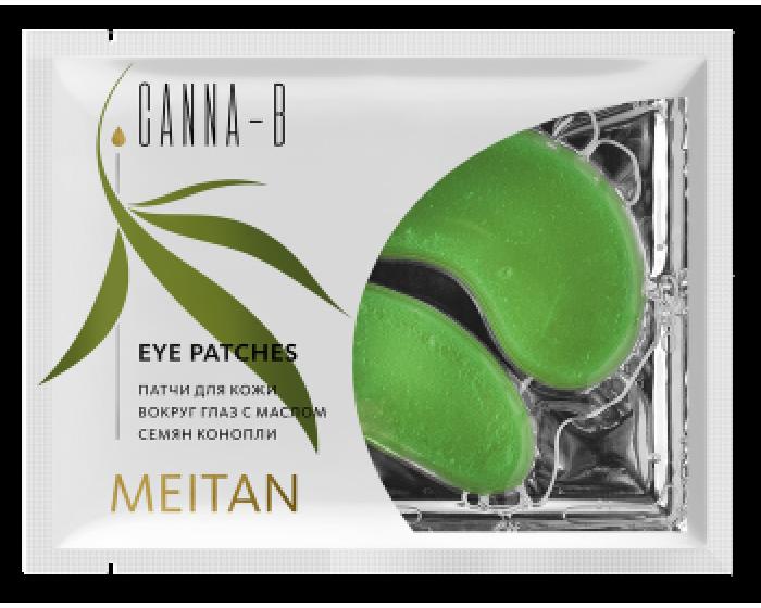 CANNA-B kaukės odai aplink akis su kanapių sėklų aliejumi, 6 g. (konsultant. tanai: 0,83)