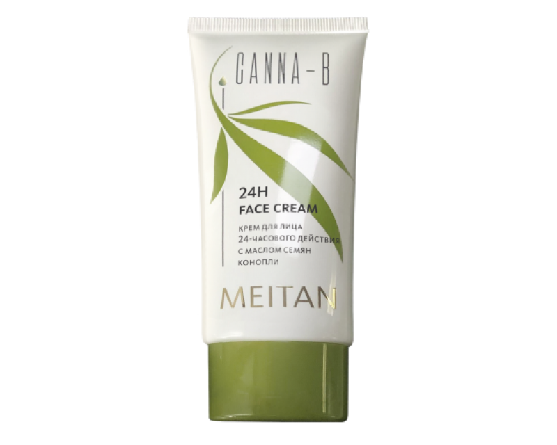 CANNA-B veido kremas 24 valandos veikimo su kanapių sėklų aliejumi, 50 ml. (konsultant. tanai: 8,00)