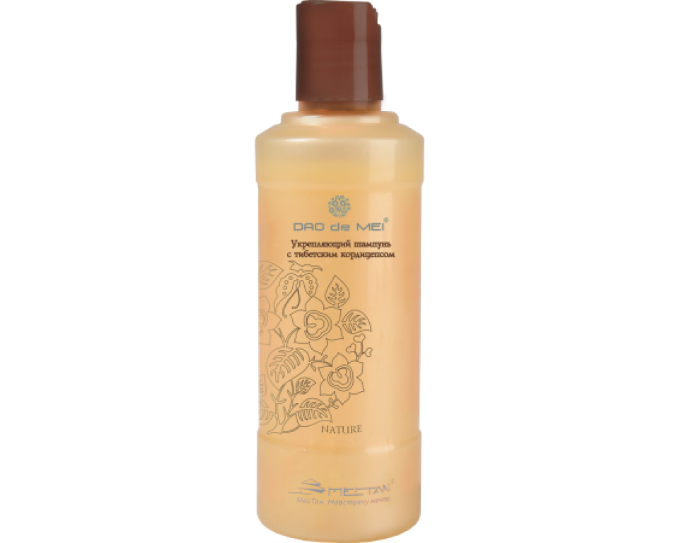 Stiprinantis šampūnas su Tibeto Kordicepsu 240 ml. (nuo plaukų slinkimo-skatinantis augimą)