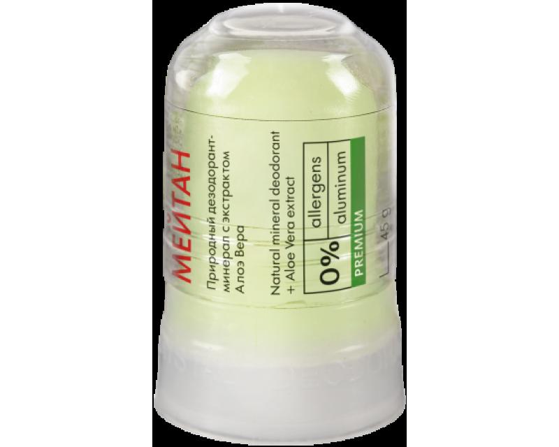 Natūralus mineralinis dezodorantas. Alunitas su Aloe Vera ekstraktu 45g. (konsultant. tanai: 6,55)